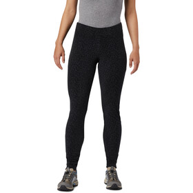 Columbia Glacial Polarowe legginsy z nadrukiem Kobiety, black sparkler print